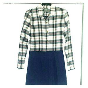 Cynthia Rowley Long-Sleeve Mini-Dress